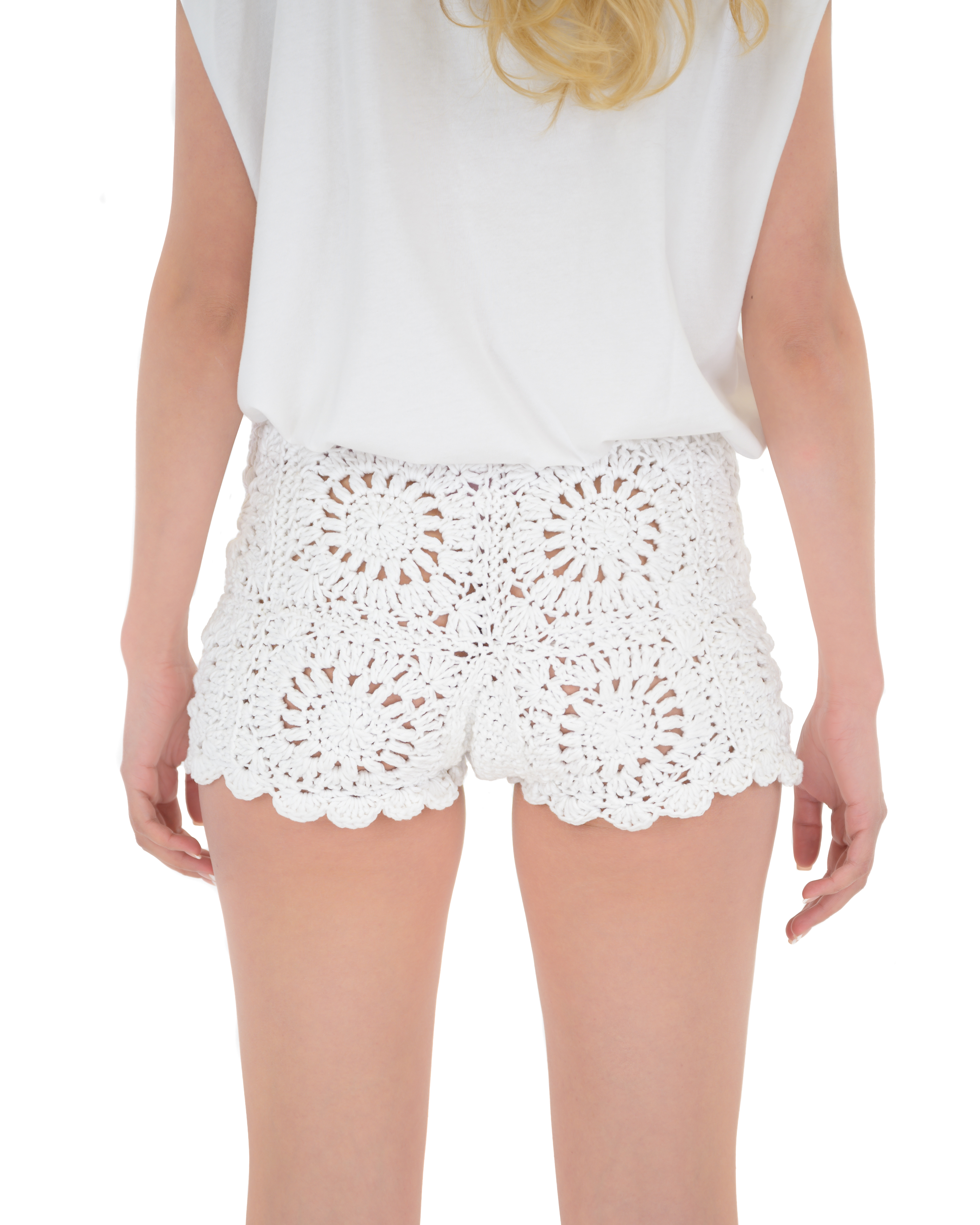 Patchwork Tiles Shorts