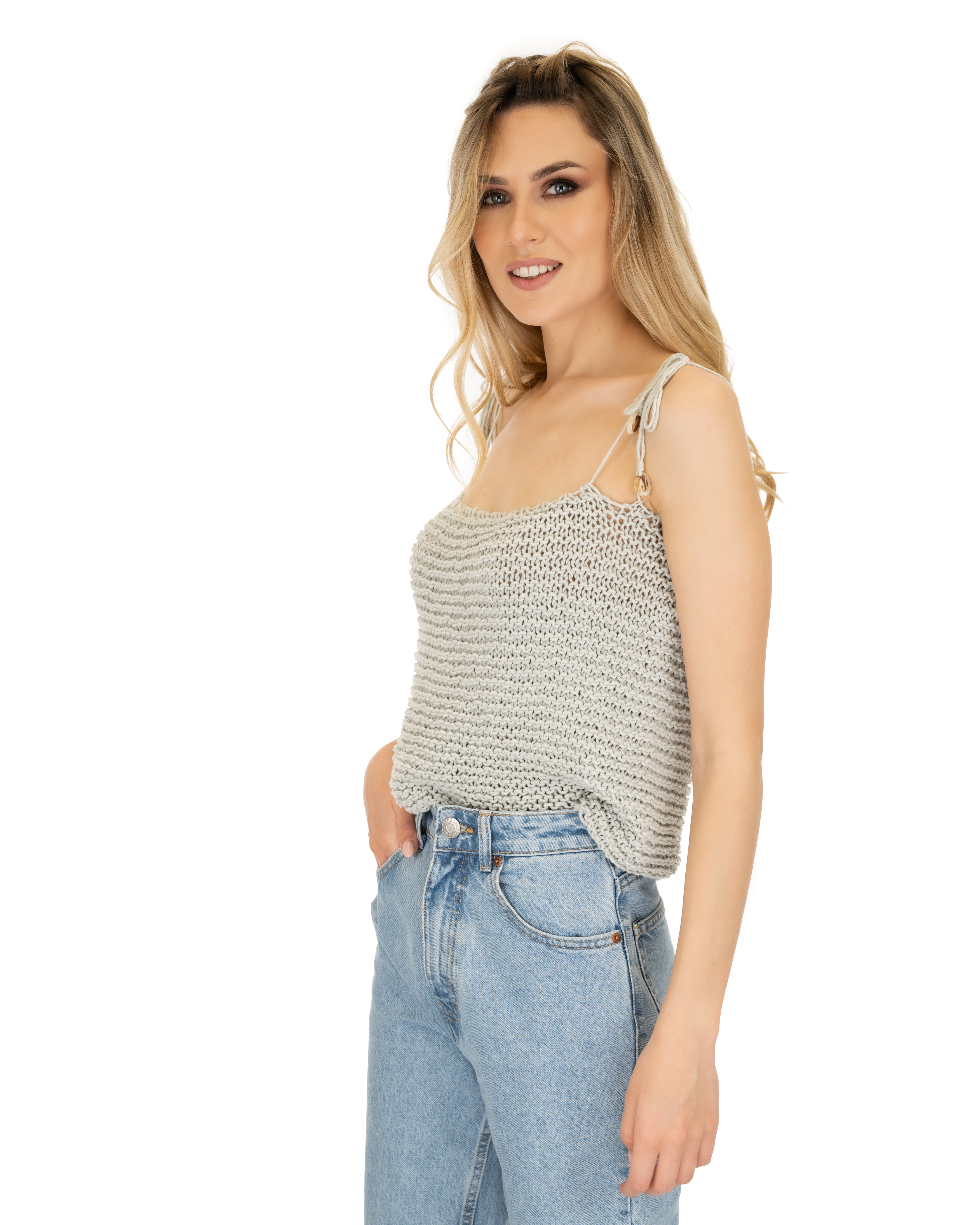 Knitted Crop Top