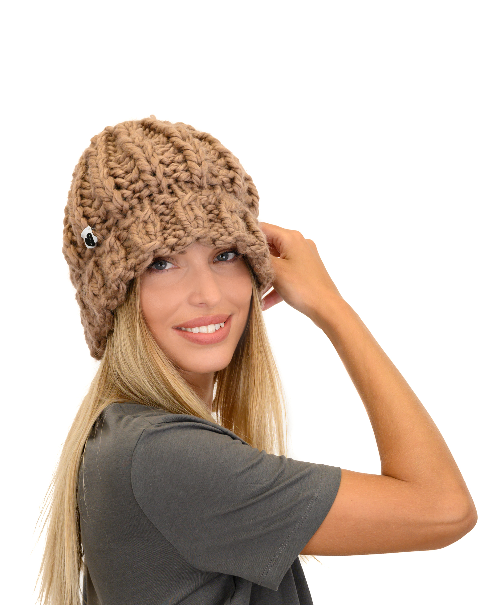 Bucket Knitted Hat